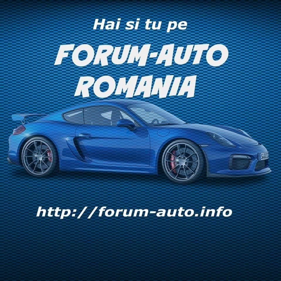 Bun venit pe Forum Auto Romania